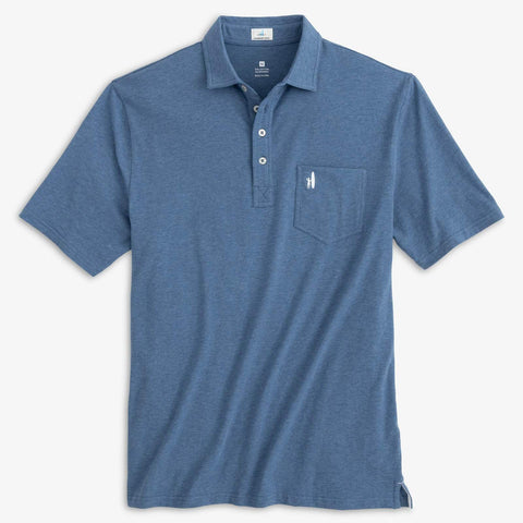 Heathered Original 4-Button Polo – Johnnie-O