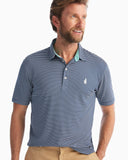 Merrins Striped Prep-formance Pique Polo – johnnie-O