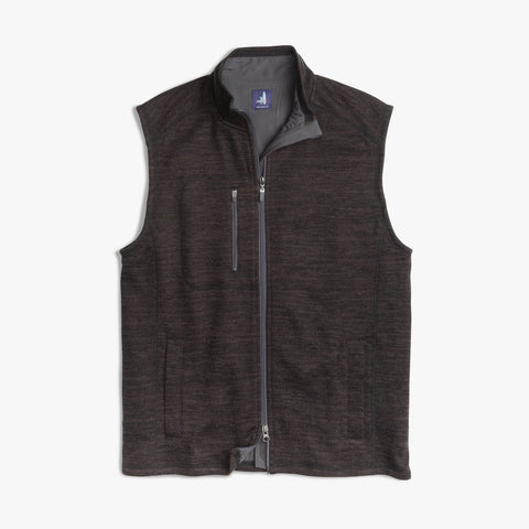 Johnnie-O Tahoe 2-Way Zip Front Fleece Vest