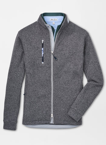 Peter Millar Legacy Sweater Fleece Full-Zip Jacket