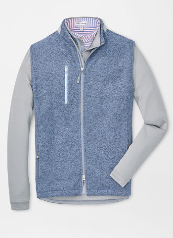Peter Millar Legacy Sweater Fleece Full Zip Vest