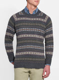 Peter Millar Fair Isle Crew Neck Sweater
