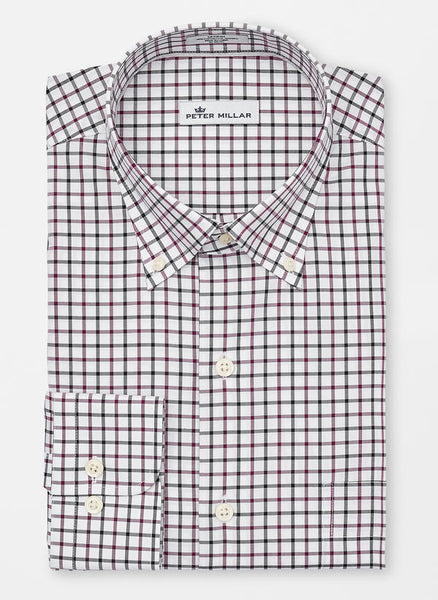 peter millar malta tattersall sport shirt john hyatt clothing