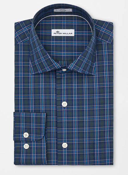 Peter Millar Waterford Plaid Sport Shirt