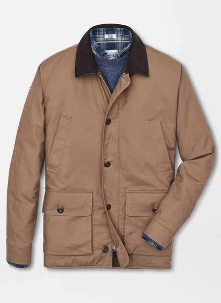 Peter Millar Walden Canvas Barn Coat