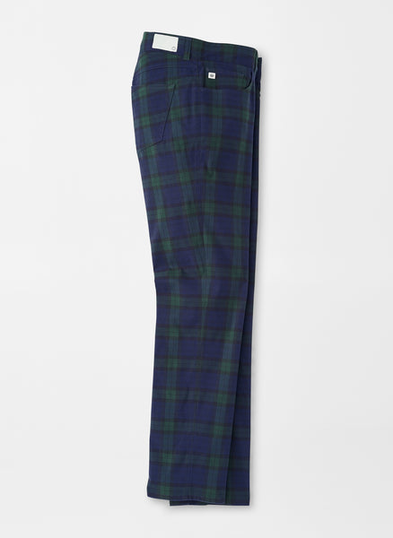 Cashiers Mélange Tartan Five-Pocket Performance Pant — Peter Millar