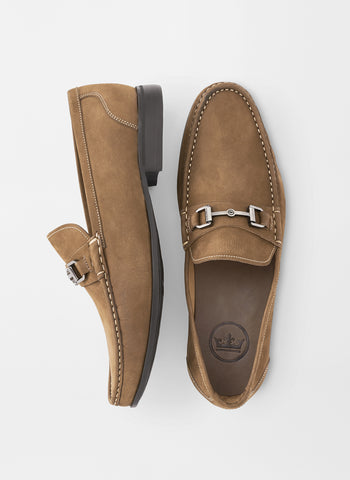 Peter Millar Hyperlight Nubuck Bit Loafer