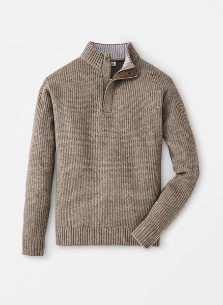 Peter Millar Basketweave Quarter-Zip