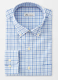 Crown Ease Stretch McCall Tattersall Sport Shirt — Peter Millar