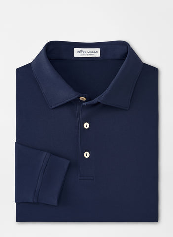 Lyons Performance Long Sleeve Polo – Peter Millar