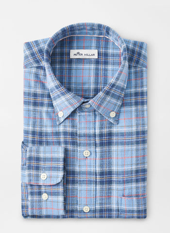 Huntly Flannel Sport Shirt – Peter Millar
