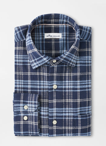 Ashburton Flannel Sport Shirt – Peter Millar