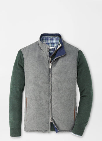 Reversible Flannel Vest – Peter Millar