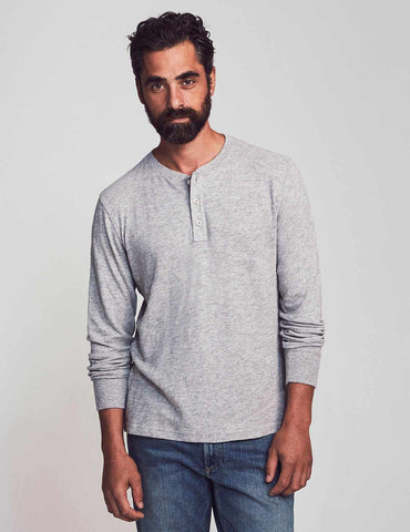 Slub Cotton Henley – Faherty