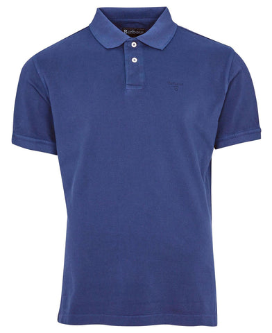Washed Pique Sports Polo – Barbour