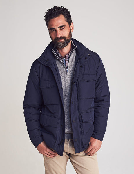 Nylon Field Jacket — Faherty