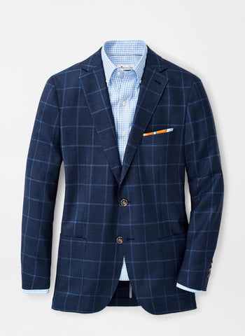 Windowpane Soft Jacket — Peter Millar