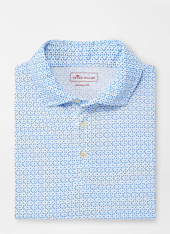 Beach Hops Aqua Cotton Polo – Peter Millar