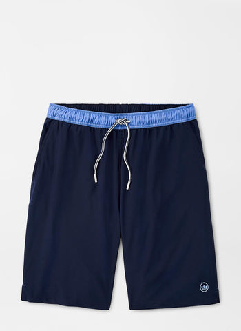 Crown Seal Solid Swim Trunk – Peter Millar