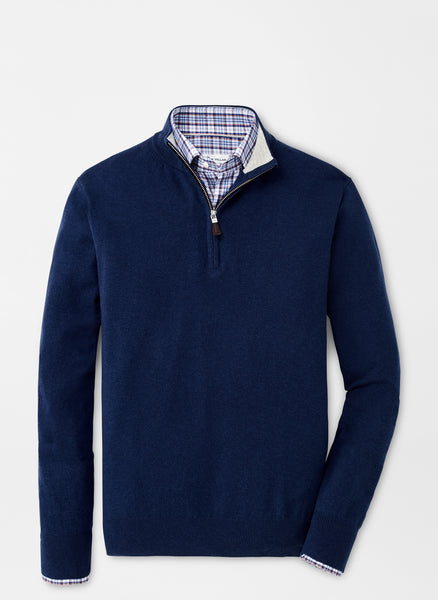 Crown Soft Quarter-Zip Sweater — Peter Millar
