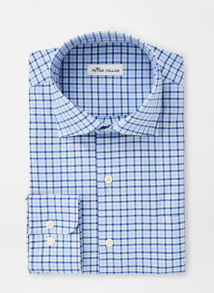 Claude Cotton-Blend Sport Shirt — Peter Millar