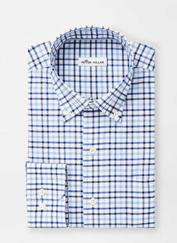 Lonnie Cotton-Blend Sport Shirt — Peter Millar