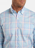 Vance Multi-Check Sport Shirt — Peter Millar