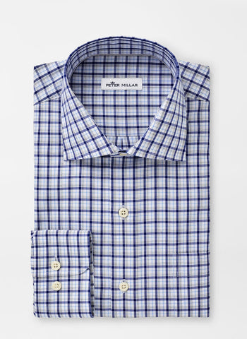 Maynard Multi-Check Sport Shirt — Peter Millar