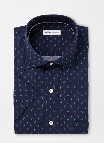 Raise the Reef Cotton-Blend Sport Shirt – Peter Millar