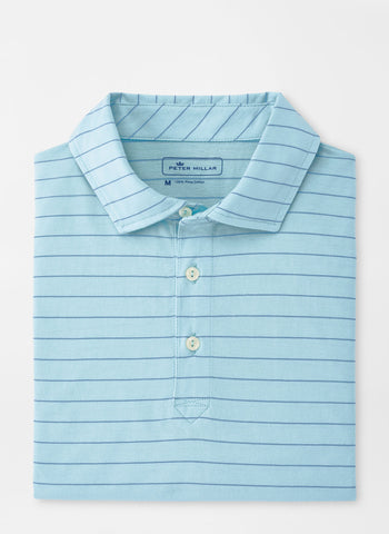 Rogue Wave Aqua Cotton Polo – Peter Millar