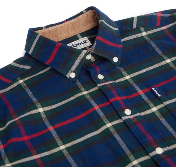 Highland Check 19 Tailored Flannel Shirt — Barbour