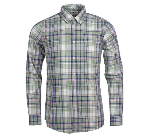 Madras 6 Tailored Shirt — Barbour
