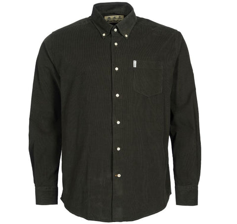 Cord Tailored Fit Shirt — Barbour