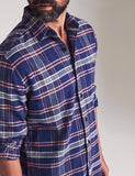 Seaview Cardiff Plaid Flannel Shirt — Faherty