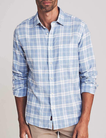 Steel Heather Plaid Everyday Shirt – Faherty
