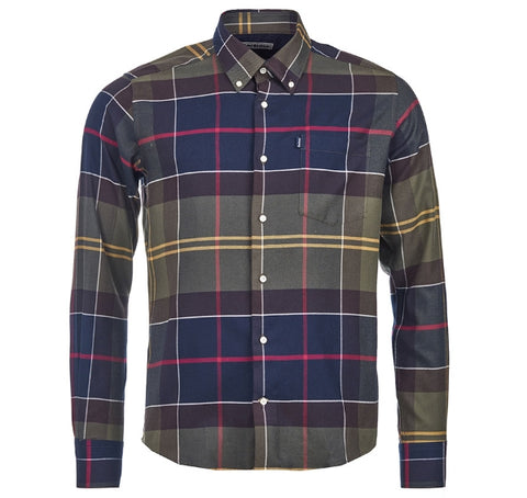 Classic Tartan Tailored Fit Shirt — Barbour
