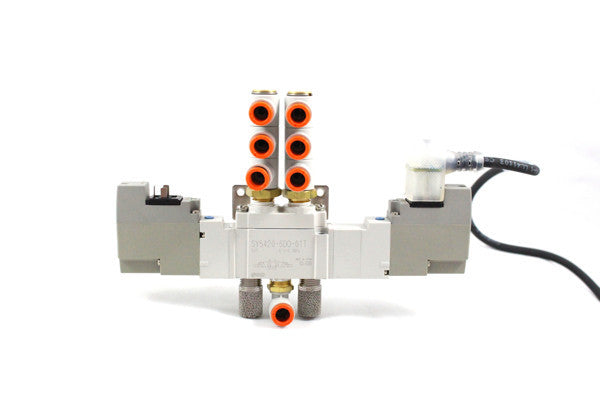 SOLENOID ASSEMBLY, 3 POSITION, EXHAUST CENTER