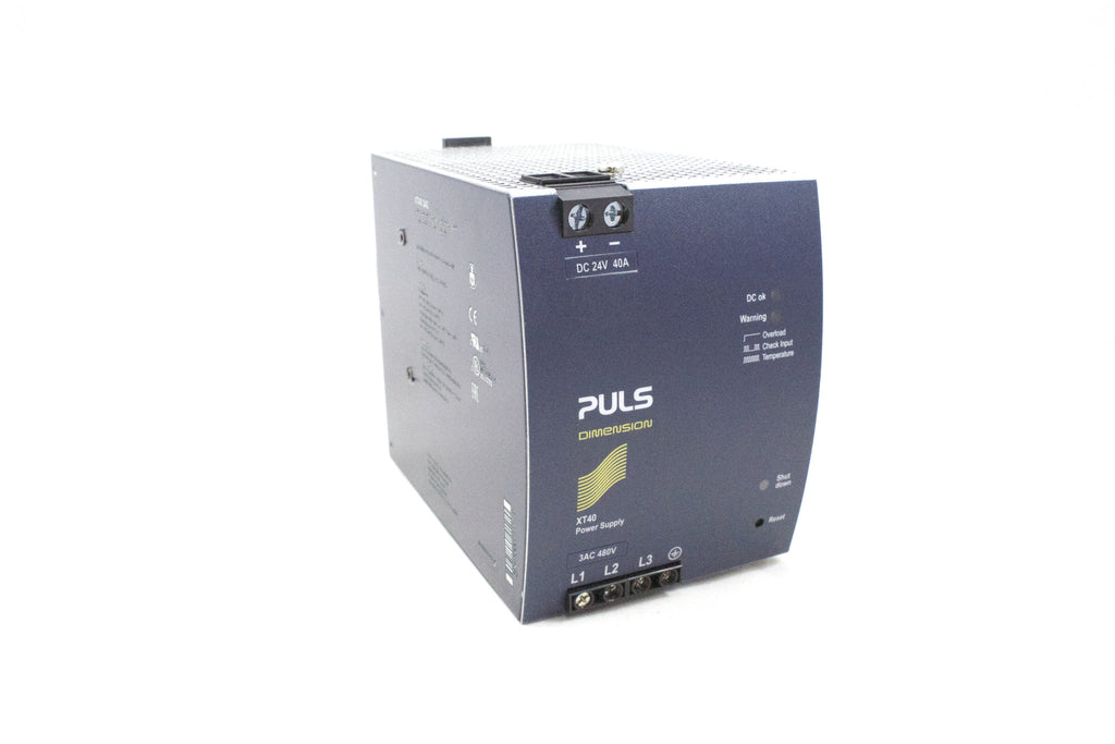 480V 3Phase input; 24VDC 40A High efficiency power supply