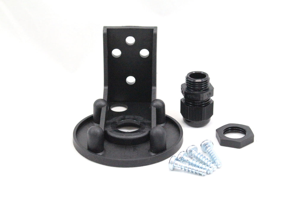 Bracket For Stacklight Base Mount; Black
