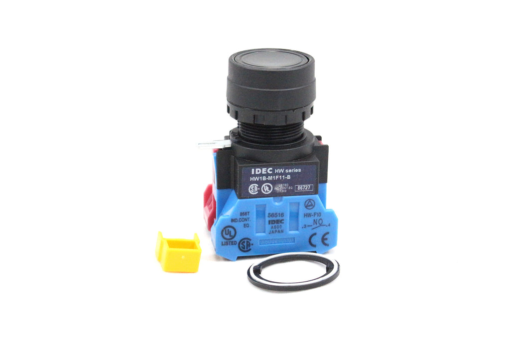 22MM ROUND FLUSH MOMENTARY ASSEMBLES PUSHBUTTON, NON-ILLUMINATED, PLASTIC BENZEL, 1 NORMALLY OPEN AN