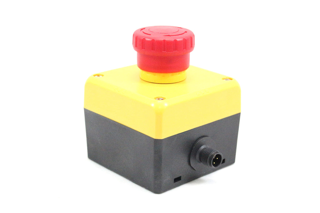AS-Interface EMERGENCY STOP Pushbutton; 2-Channel; 2 NC Contacts; IP 65; M12 Connector; Push/Pull