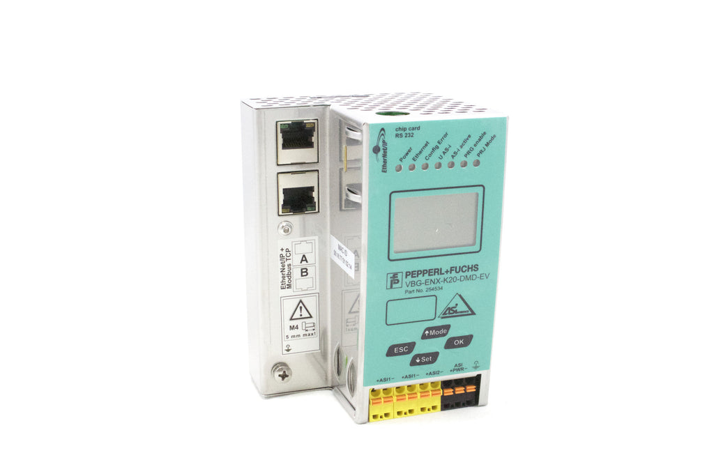 Gateway, Double AS-Interface Networks; EtherNet/IP; 30VDC