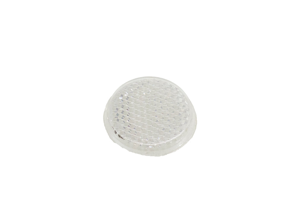 Reflector, Rectangular 47.5mm x 35mm, Mounting Holes, Fixing Strap