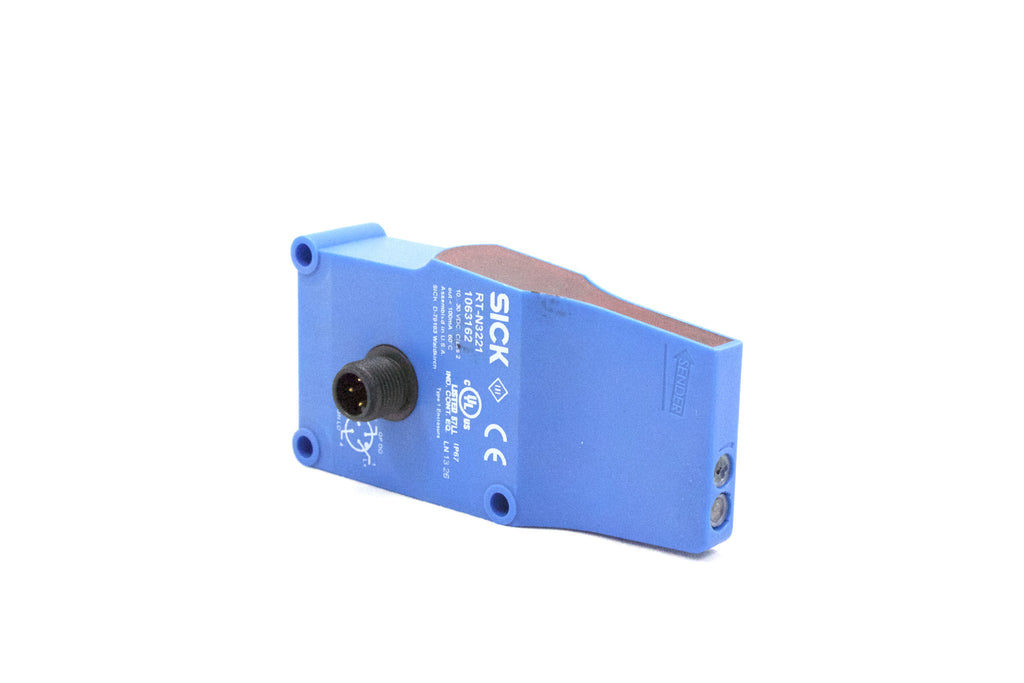 Background Suppression Photoeye;  22IN Sensor Range; 24VDC; M12 Cable Connector; NPN; Light Operate