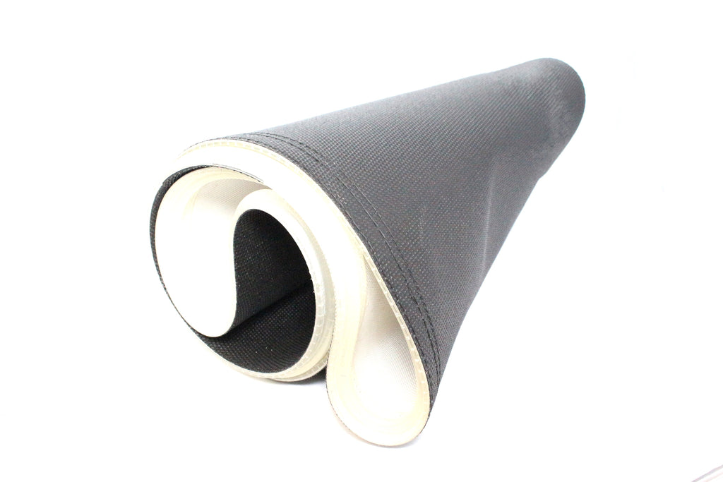 17.50IN WIDE X 72.5IN LONG, FOR 18IN BETWEEN FRAME 36IN ZONE, 1 PLY BLACK PVC,  NEGATIVE PYRAMID