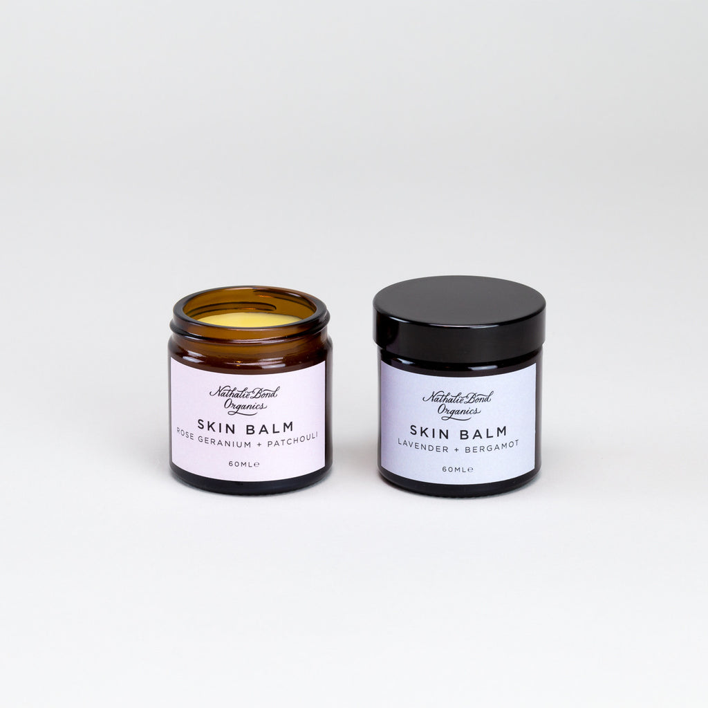 Skin Balm (Rose and Lavender) by Nathalie Bond Organics | Natural Organic Skincare at Labrador