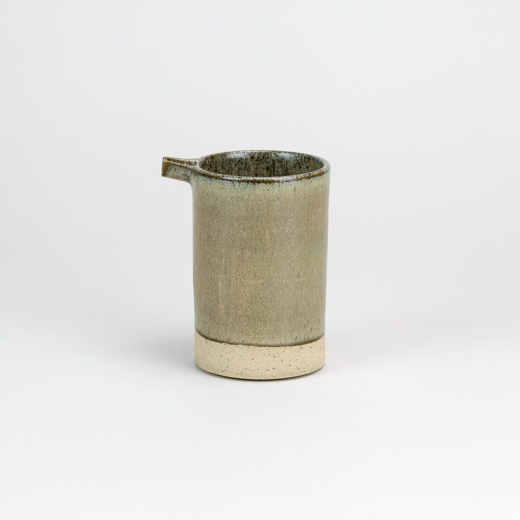 Gold Brut Pourer by Pottery West | Handmade Functional Studio Ceramics at Labrador