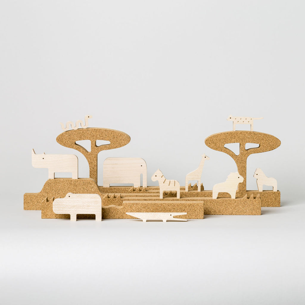 Jungle Silhouette by Bleebla | Wooden Toys and Playsets for Kids at Labrador