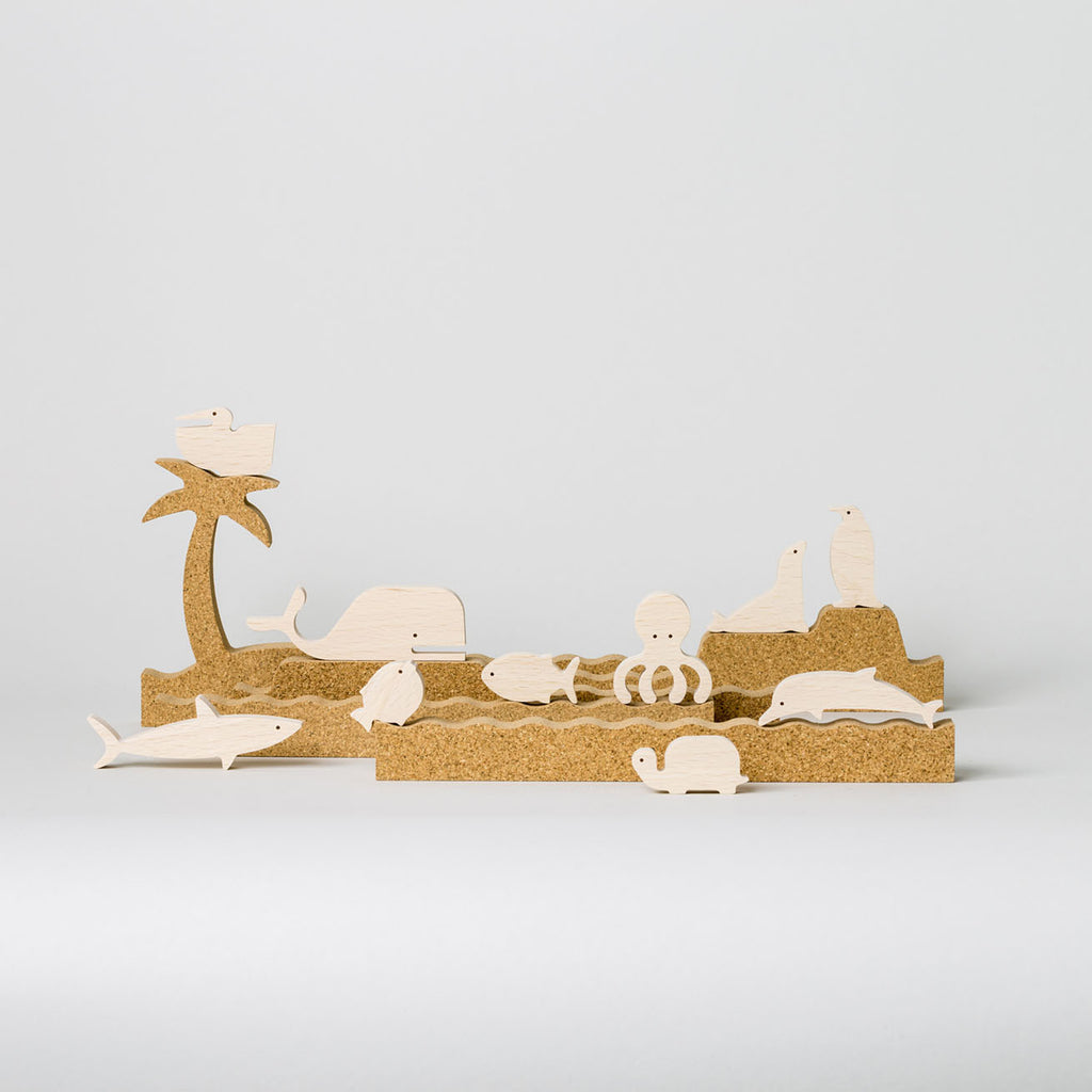 Sea Silhouette by Bleebla | Wooden Toys and Playsets for Kids at Labrador