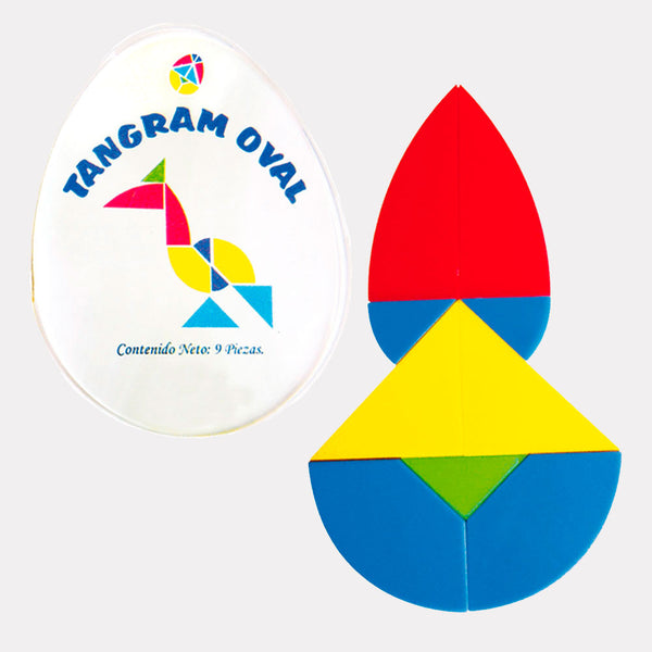 3105 Tangram Oval 1 juego